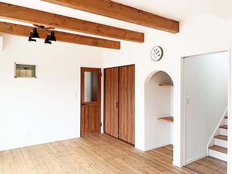 ナチュラルスタイルの家の特徴